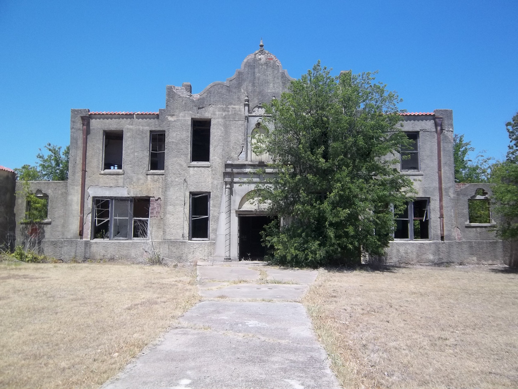 Old Building Waco Texas