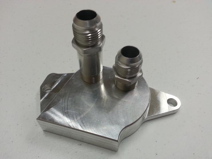 Housing Adapter Plate Bell