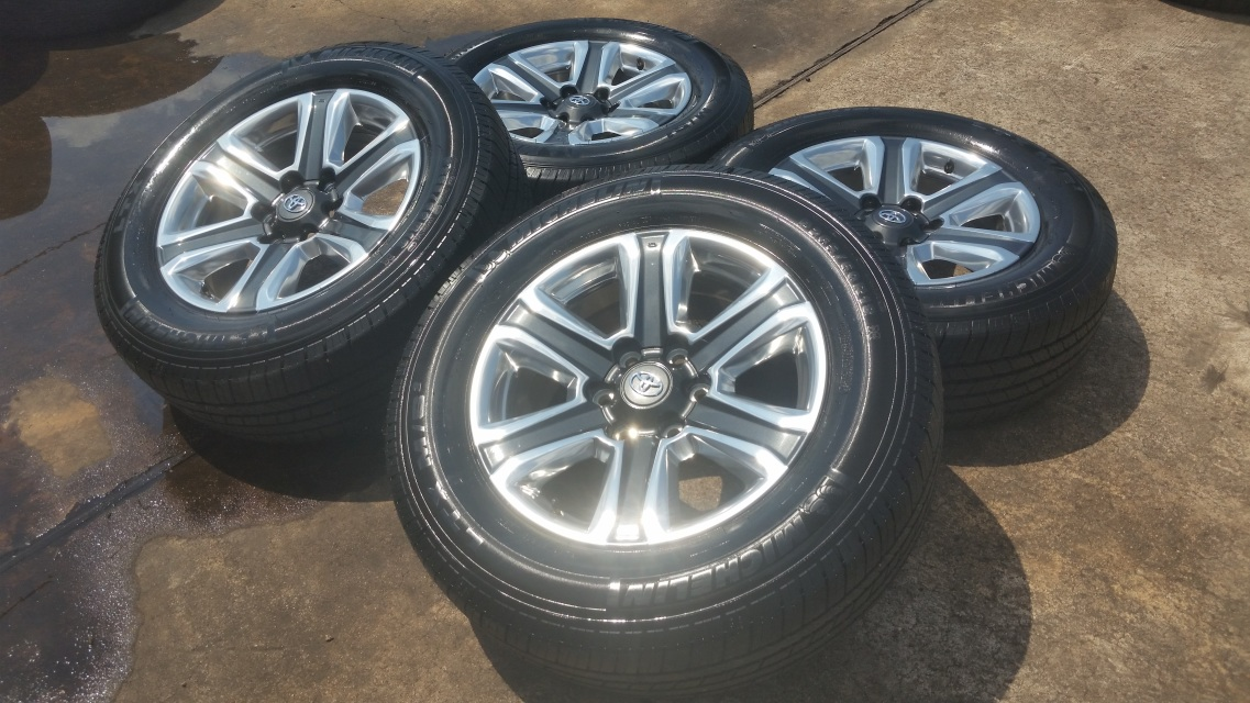 8x170 20 Polished Wheels