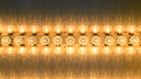 Large Metal Letters Lights