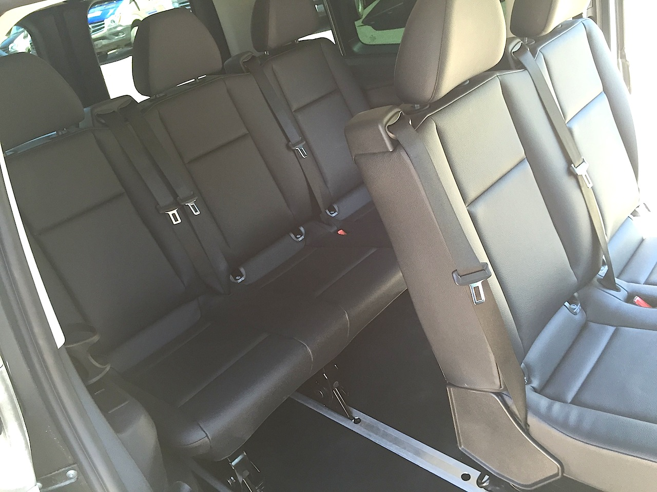 2016 Mercedes Metris Rear Seats The Fast Lane Truck