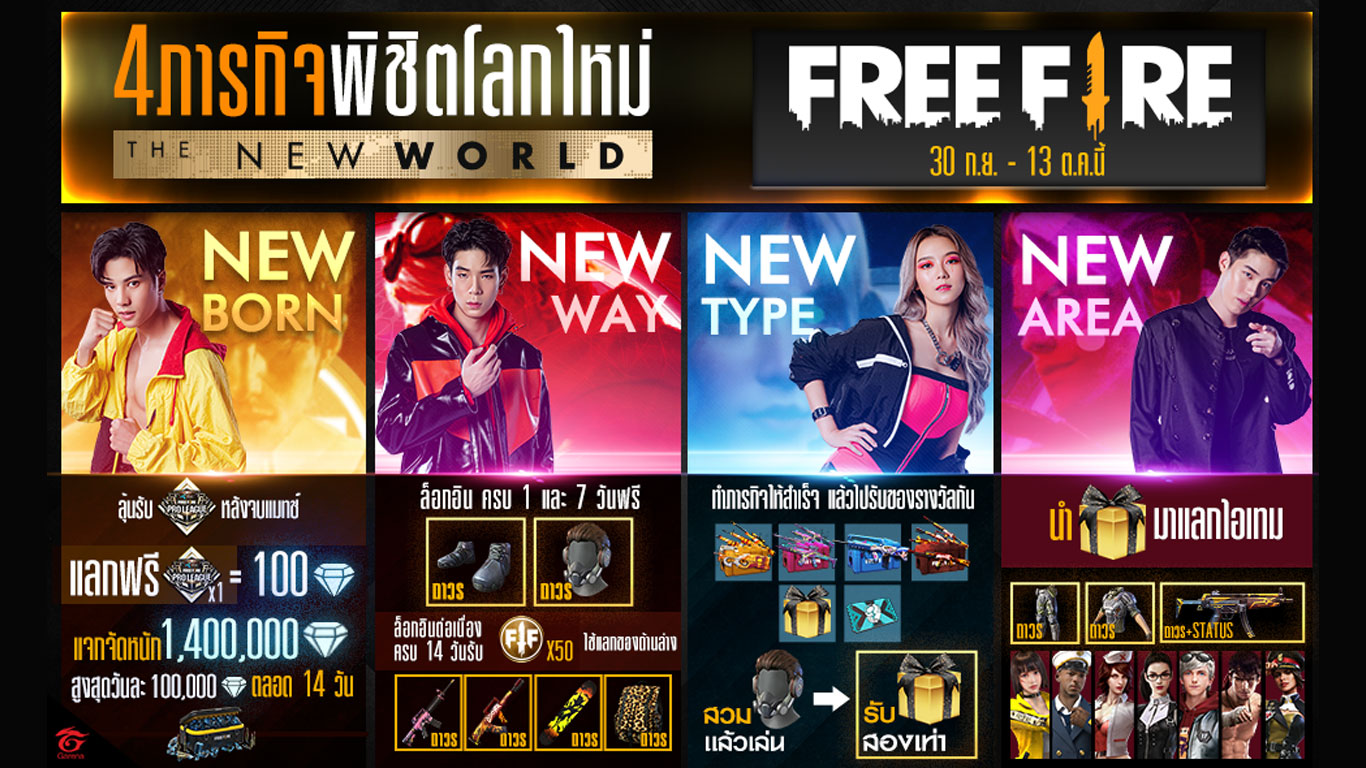 Free Fire : The New World