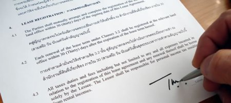 What Is A Lease Agreement   Design Templates This Is A Lease Agreement Template Agreement In Thai And English Language