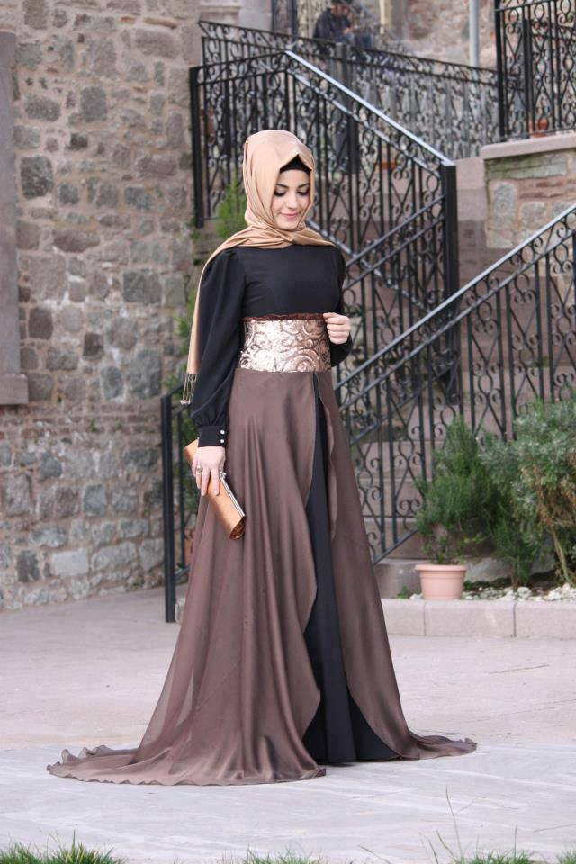 Image Result For Model Baju Muslim Gamis