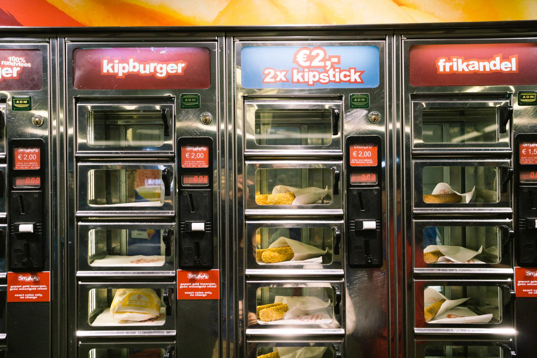 Fresh Bread Vending Machine San Francisco