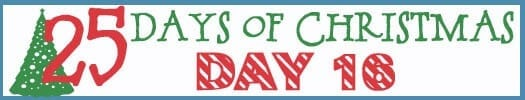 25 Days of Christmas Banner day 16