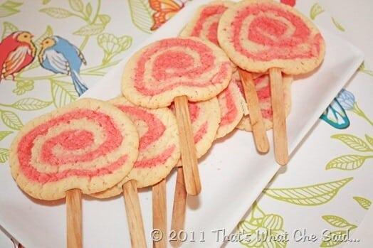 Valentine's Day Swirl Cookies at thatswhatchesaid.net