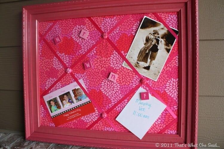 DIY Bulletin & Memo Board