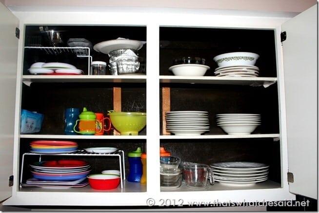 Quick Kitchen Cabinet Update
