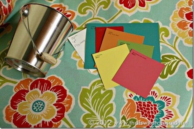 Craft Room Color Pallette