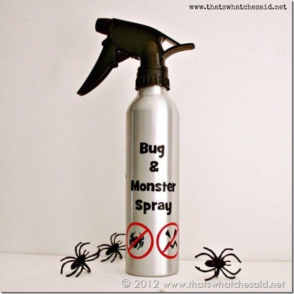 DIY Bug and Monster Spray