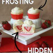 Strawberry Cupcakes Pin Image