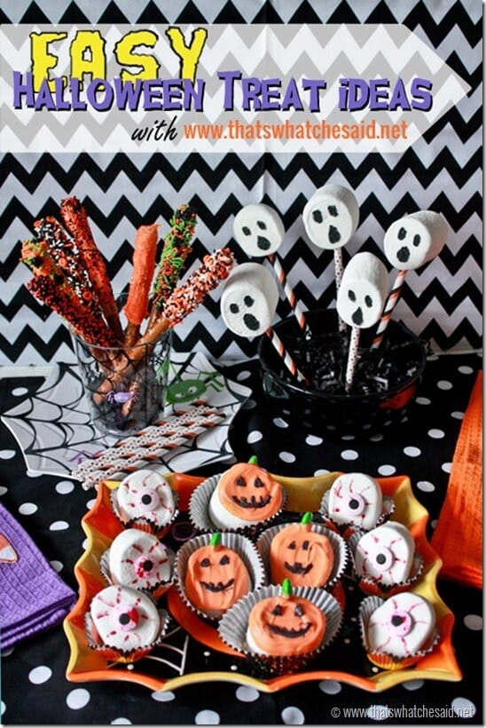 Easy Halloween Treat Ideas at thatswhatchesaid