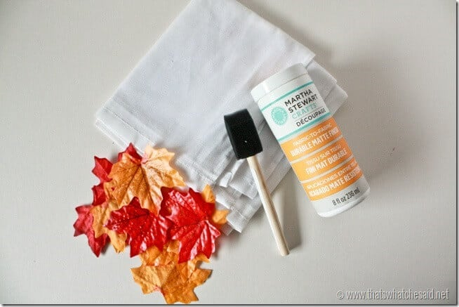 Supplies_for_DIY_fall_napkins_at_thatswhatchesaid.net_