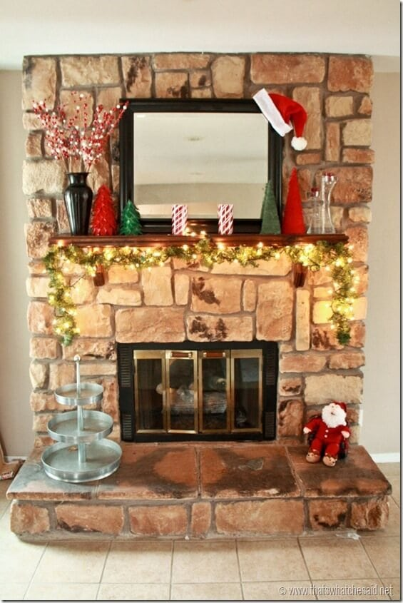 Holiday Mantle 1
