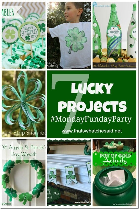 7 Green St. Patrick's Day Projects at thatswhatchesaid.net