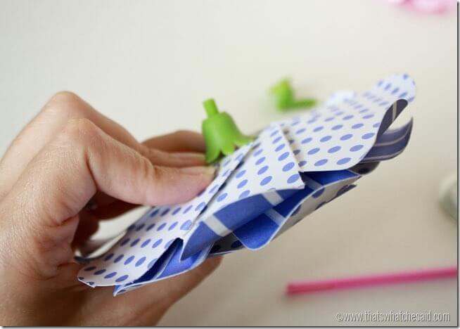 Simple Paper Flowers 12
