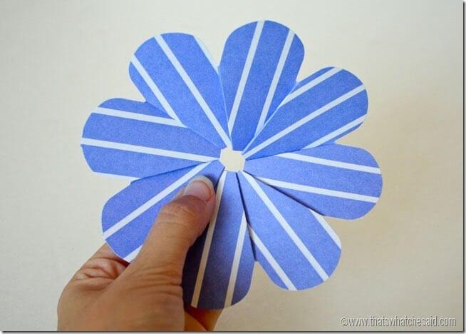 Simple Paper Flowers 7