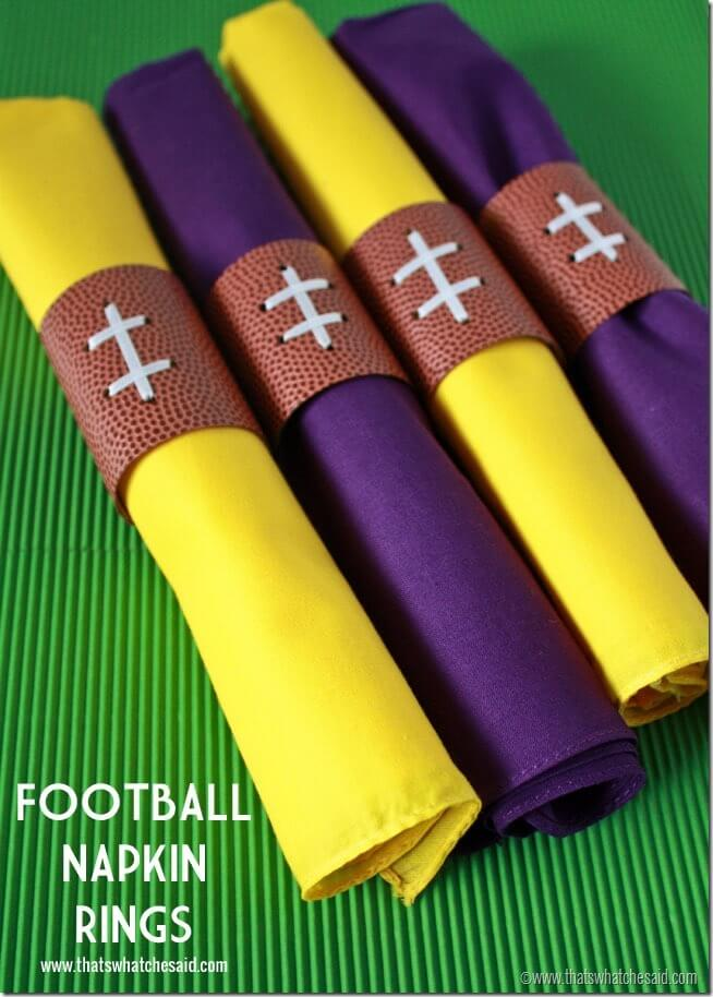 Football Party Craft Ideas