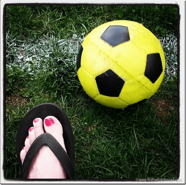 Soccer with Lily Jade