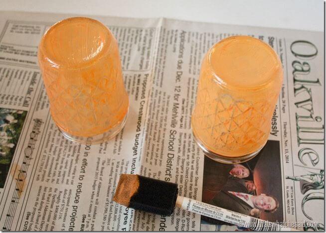 Orange Mason Jar Tint