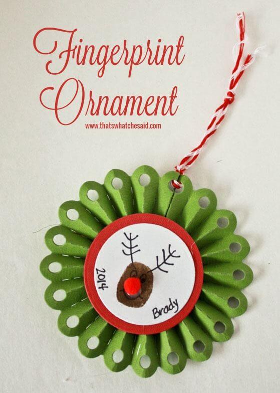 Fingerprint Ornament Ideas at thatswhatchesaid.com