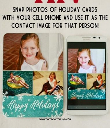 Ideas on what to do with holiday cards after the holidays
