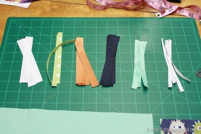 Easy Taggie Blanket 2