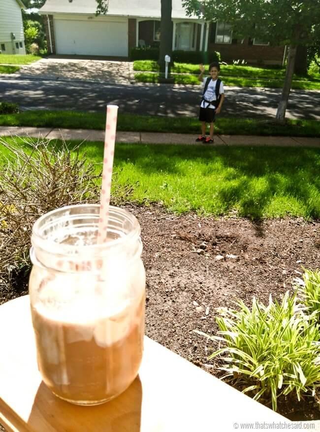 Mocha Iced Coffee Float