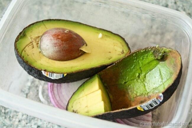 Keep Avocados Green 14