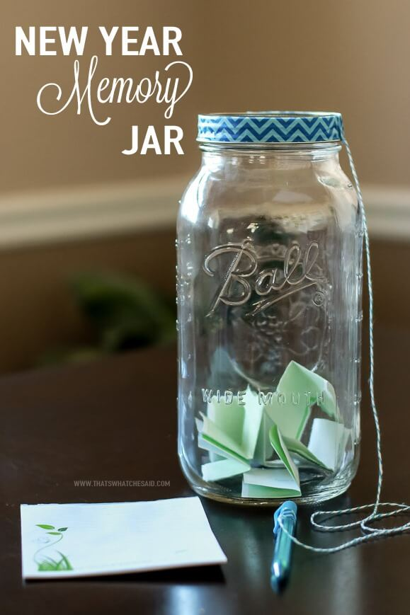 Memory Jar Project at www.thatswhatchesaid.com