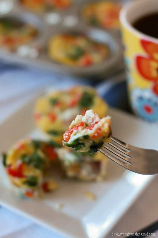 Muffin Tin Easy Egg Breakfast Muffins