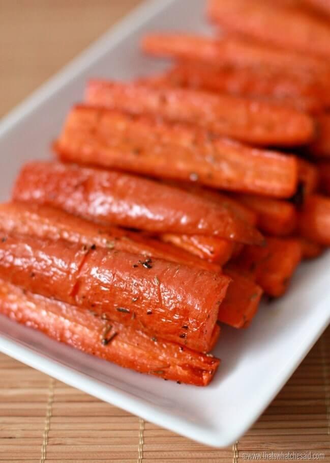 Simple Roast Carrot Side Dish