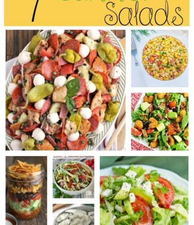 Summer Salad Recipes from Monday Funday Link Party