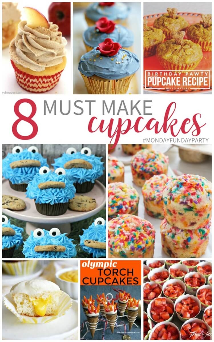 8 Must Make Cupcake Recipes