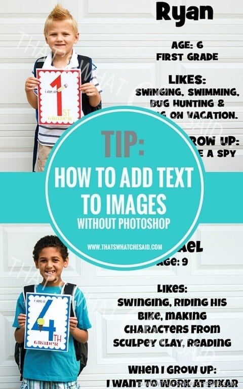 Easily Add Text to Images without needing Photoshop!
