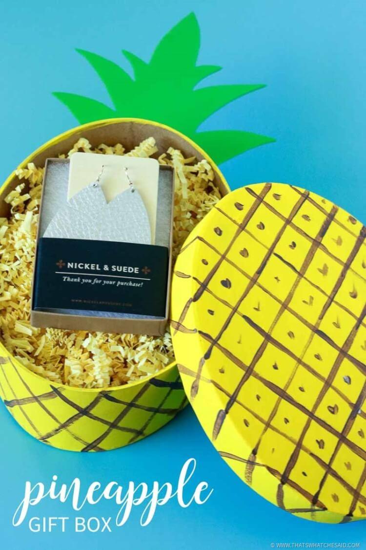Quick Craft - Pineapple Gift Box