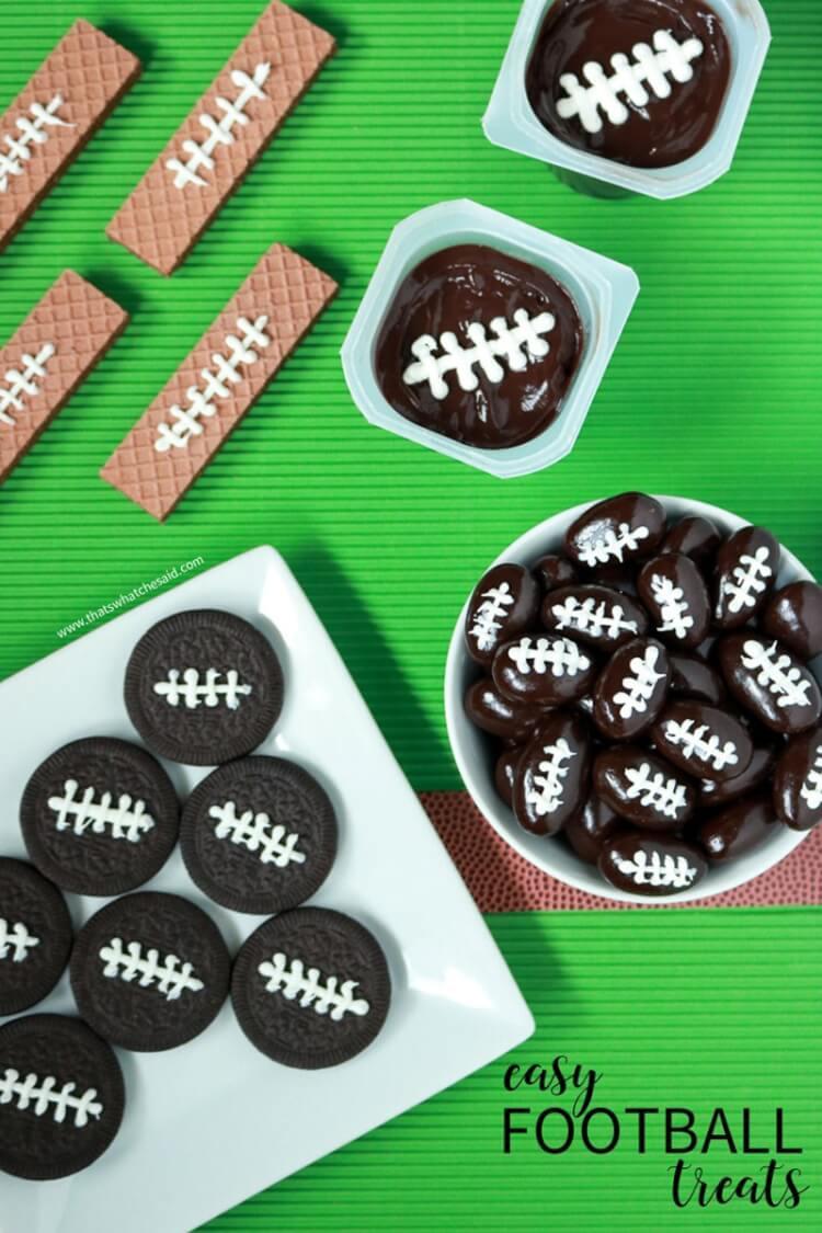 Easy Football Treats - Fun with Food