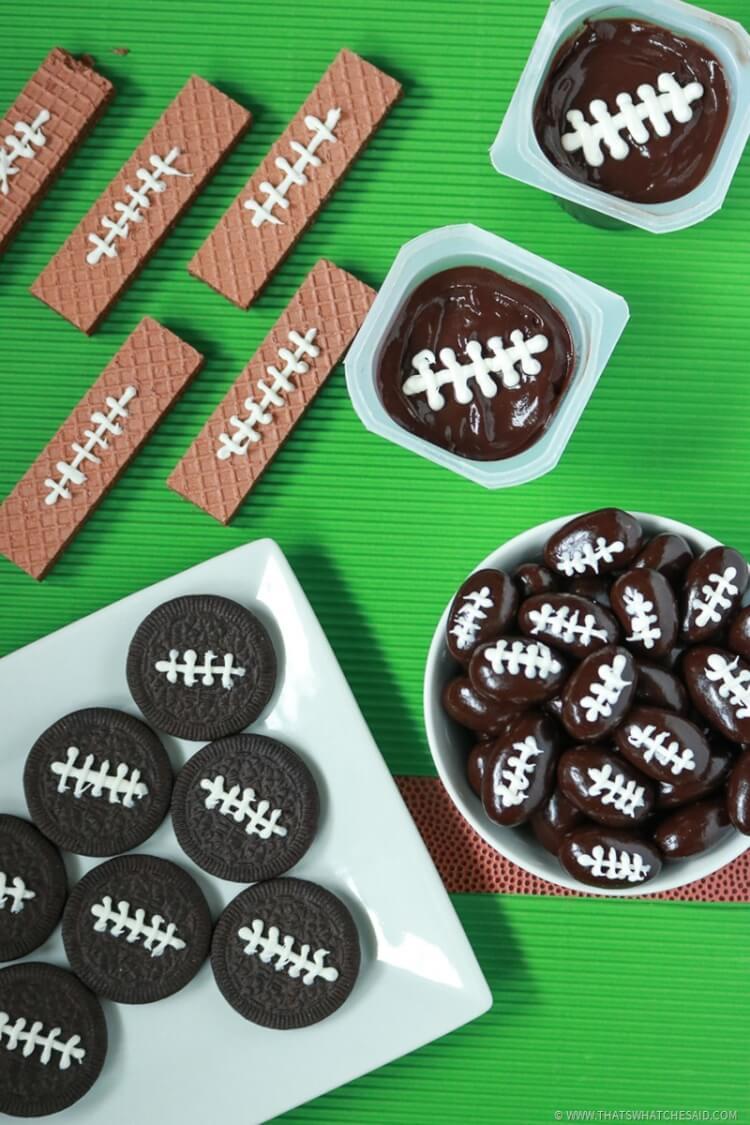 Fun with Food - Easy Football Treats