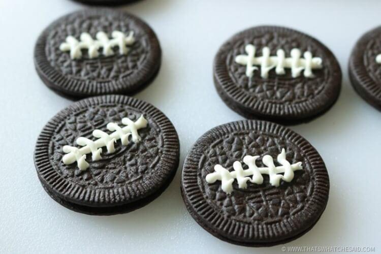 Fun with Food - Oreo Football Treats