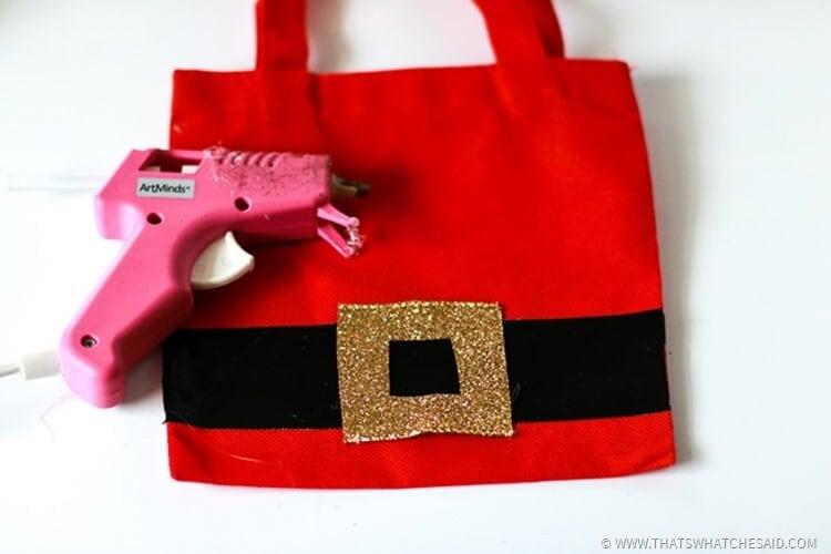 Easy Santa Sack Gift Bag