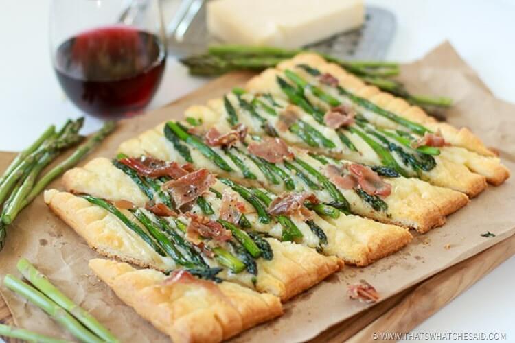 Prosciutto Asparagus Tary