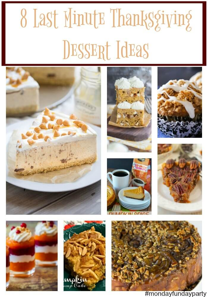 Easy Thanksgiving Dessert Ideas Featured at www.thatswhatchesaid.com