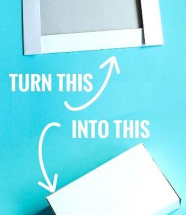 Turn a box Half into a smaller box!