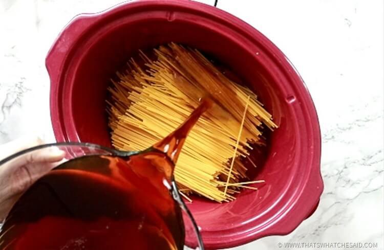 Easiest Spaghetti & Meatballs