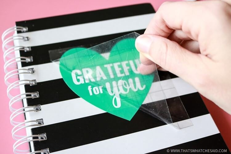 Gratitude Journal Keepsake