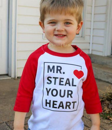 Valentine Shirt Design for boys