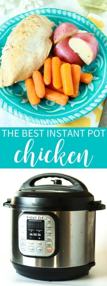 The best instant pot chicken recipe ever!