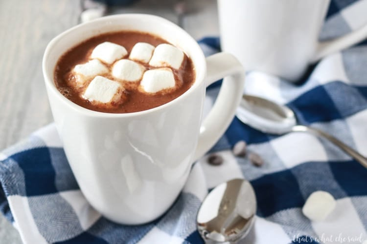 The Best Stove Top Hot Chocolate Recipe