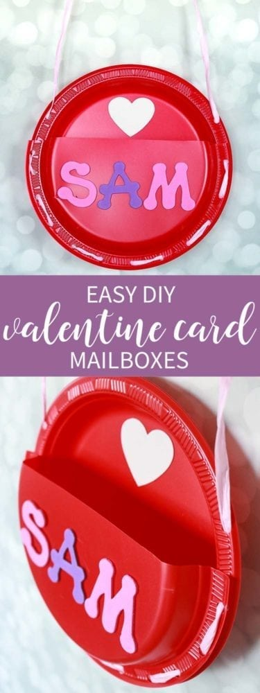 Easy Valentine Card Mailboxes